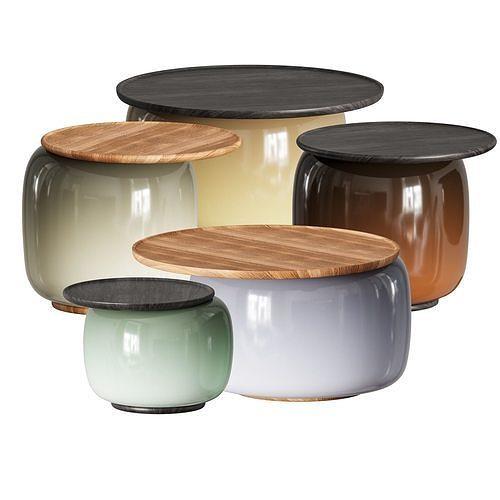 Balanced Coffee Tables by Linteloo