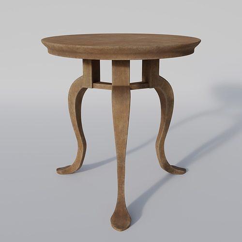Roman table - Mensa tripens