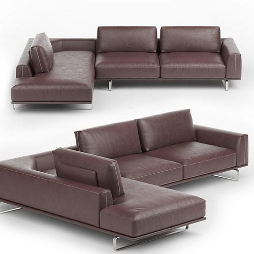 Tempo Sofa by Natuzzi