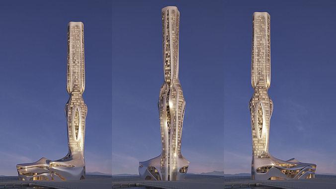 Futuristic building 41