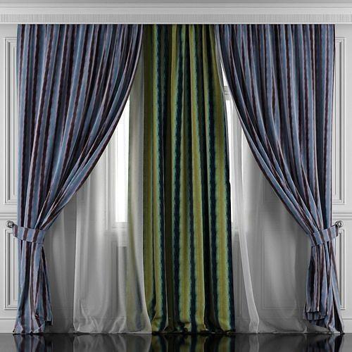 Curtain Set 417