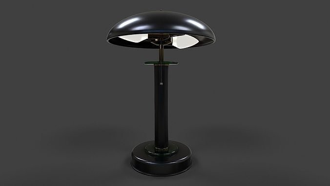 Table Lamp Low-Poly