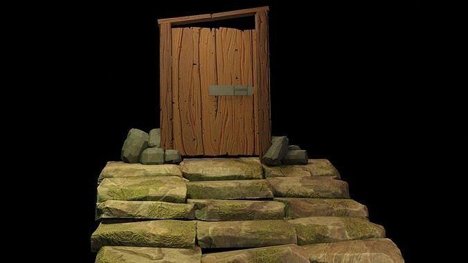 Door stylized