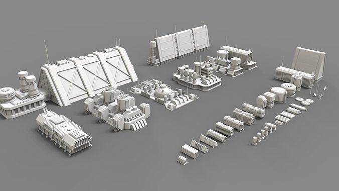 sci fi industrial objects 2