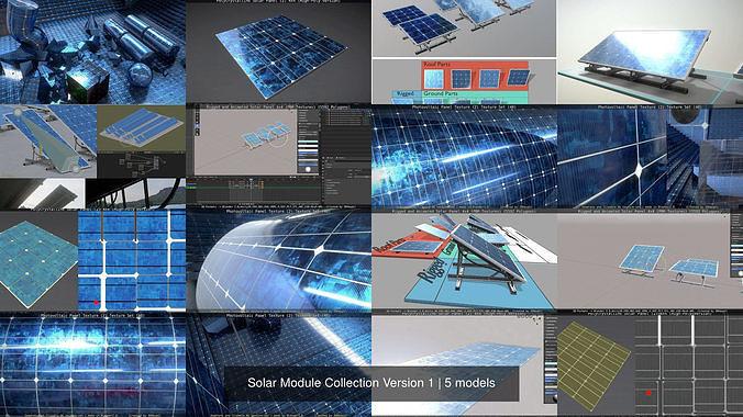Solar Module Collection Version 1
