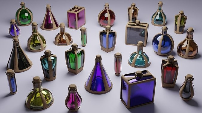 Low Poly Potions