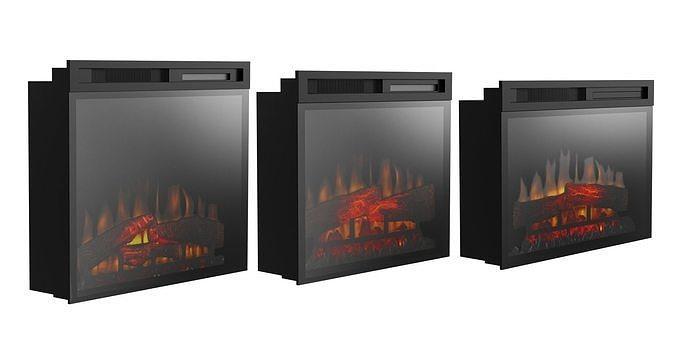 Dimplex fireplaces BLENDER 3D Model Cycles