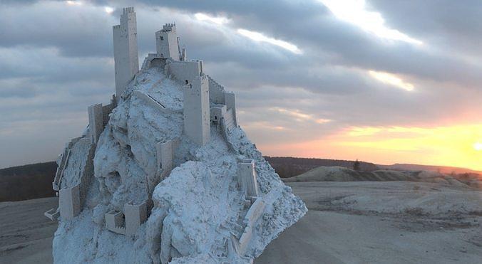 Italy fortress ruin