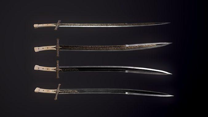 The sword of Sultan Mehmet