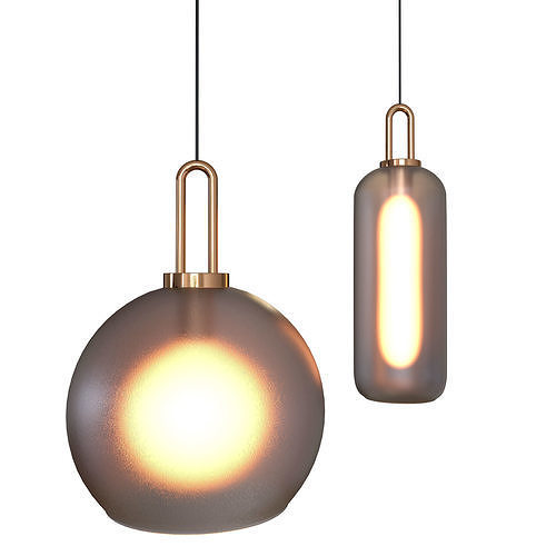 Iona glass pendant lamp