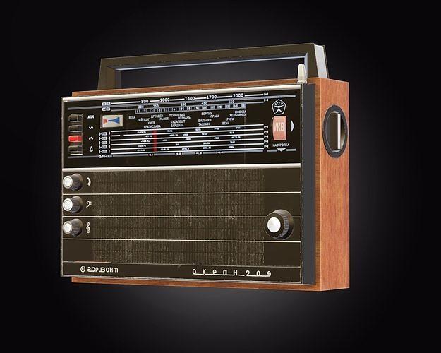 Soviet Radio Ocean-209