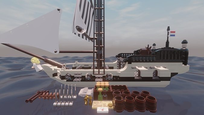LEGO - FRENCH SLOOP - PETITE LIBERTE - Rogue Film Productions