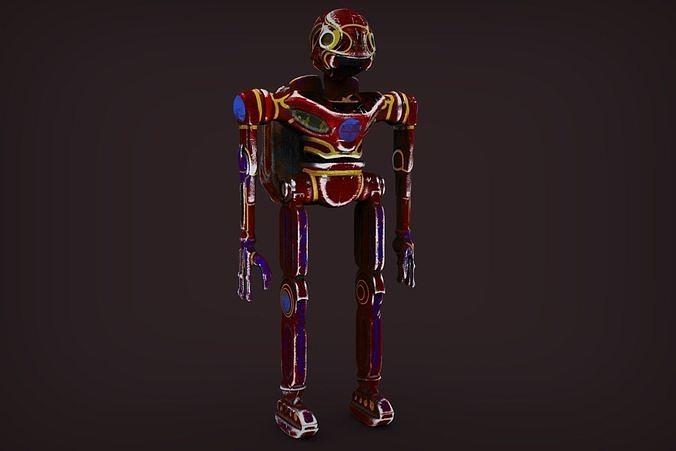 ROBOT L99 PBR GAME READY