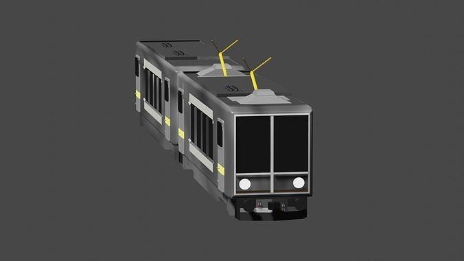 METRO TRAIN WITH COACH
