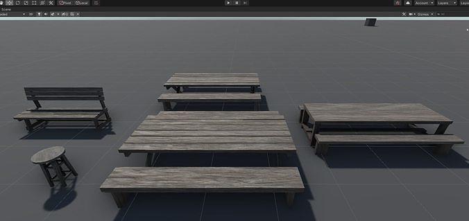 Wood Assets Pack v4