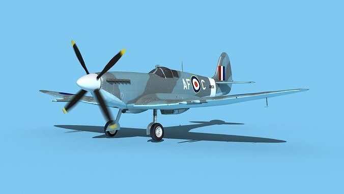 Supermarine Spitfire MkXII V03