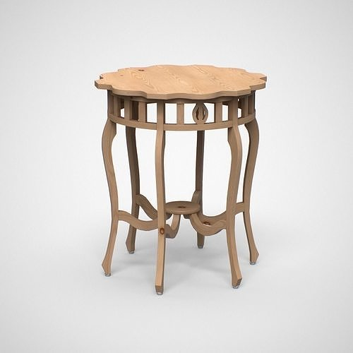 Bealey End Table pine finish