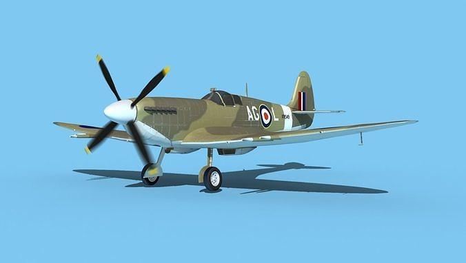 Supermarine Spitfire MkXII V05