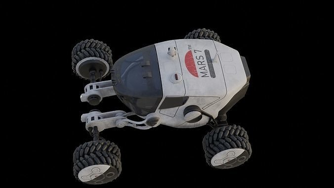 Mars Rover car