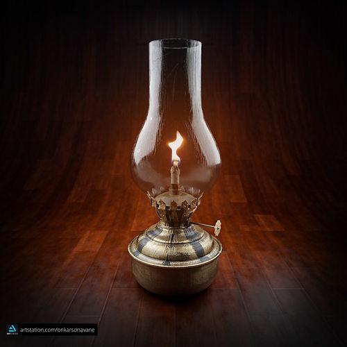 Real Old Lamp Vintage Old Lamp