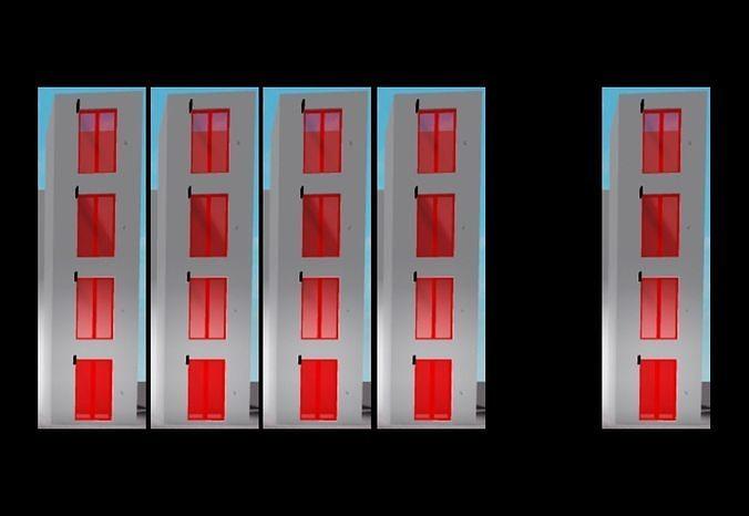 OTIS 550A Red Elevators