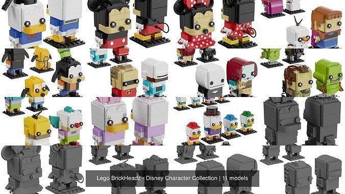 Lego BrickHeadz - Disney Character Collection