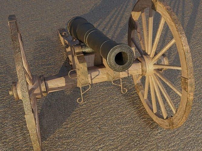 Civil War Field Cannon