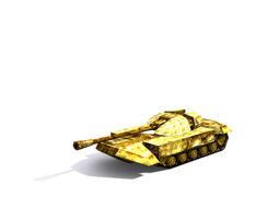 3D model Combat tank free
