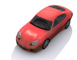 3D asset Lowpoly car