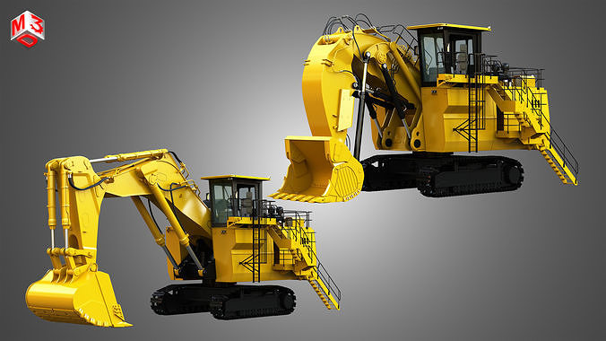 6030 FS - Mining Excavator and Shovel  2 in 1