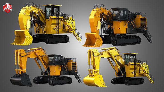 6030 FS - EX8000-6 - Mining Excavators and Shovels  4 in 1