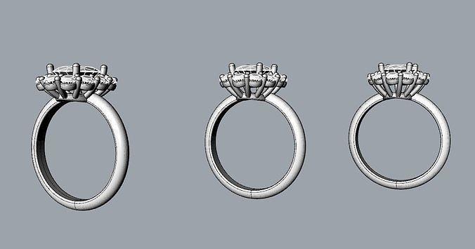Princess Diana and Kate Middleton Ring THREE varieties