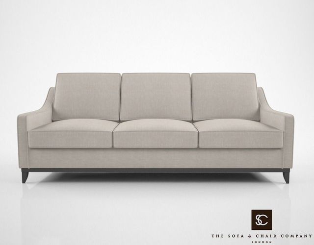 The Sofa And Chair Company Spencer Sofa 3D Model