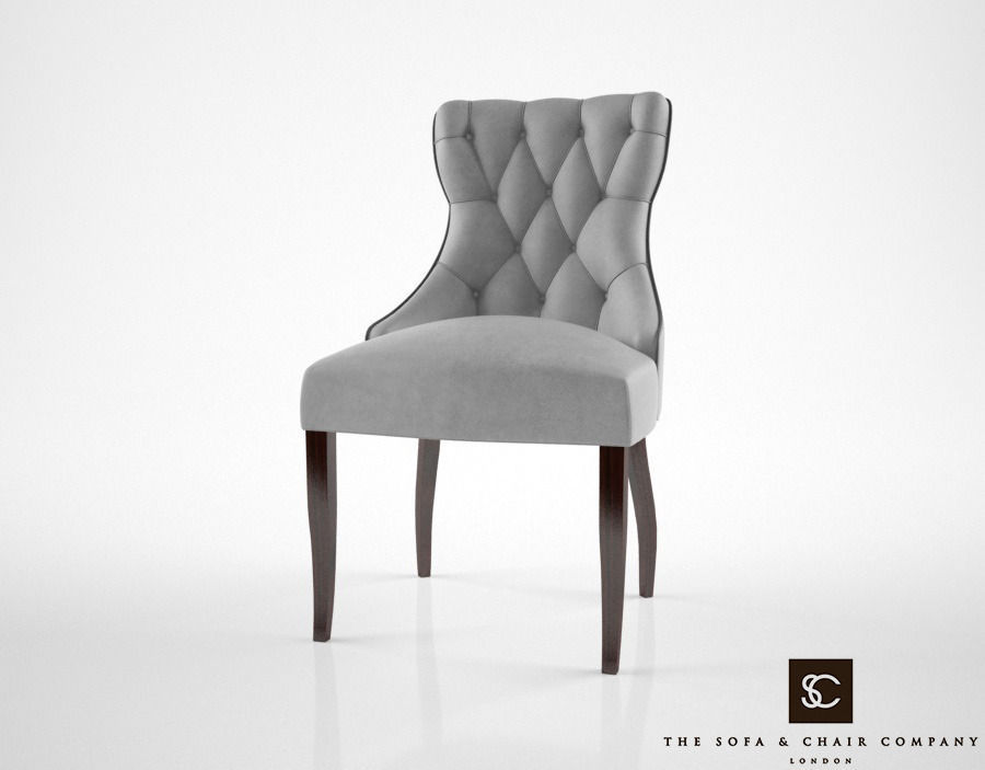The Sofa And Chair Co Guinea Dining Chair 3d Model Max Obj Fbx Mtl 1 ...