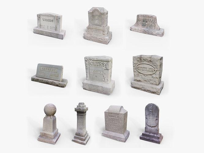 Gravestones Asset Pack