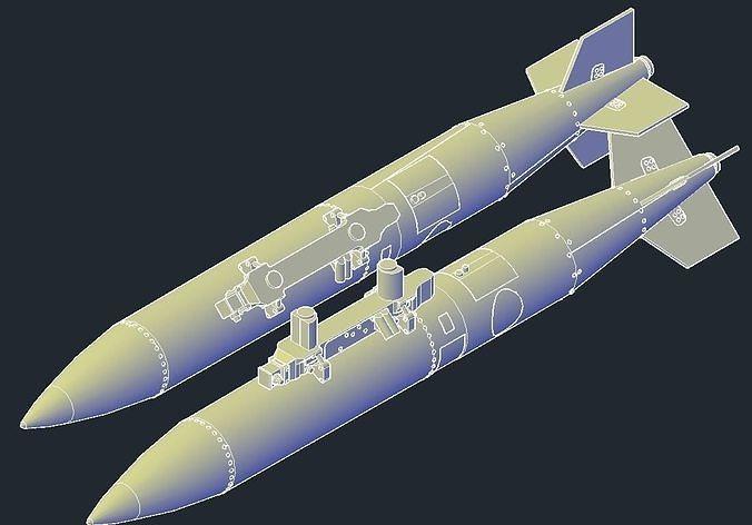 Revell B1B Lancer MPRL B61-12