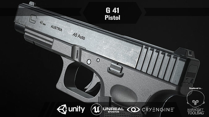 G 41 Pistol