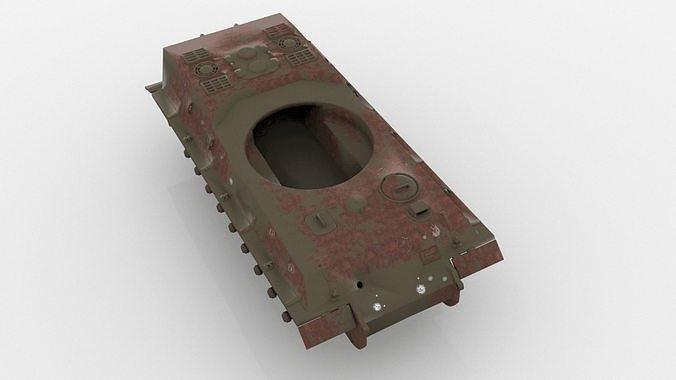 Rusting Tank wreckage