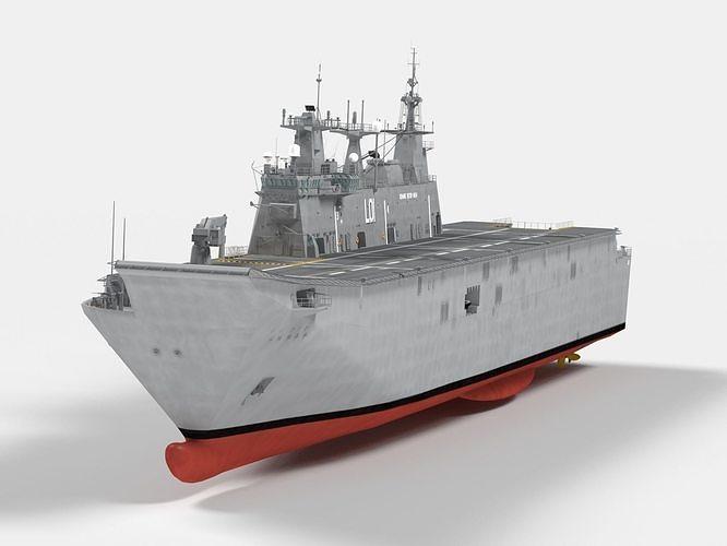HMAS Adelaide  Canberra Class LHD