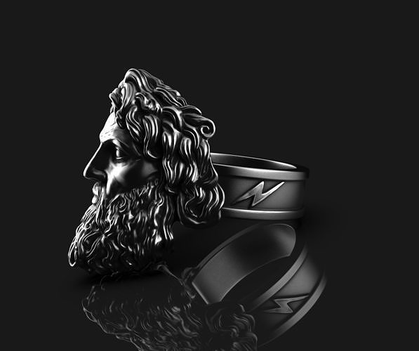 Zeus Thunder God Ring