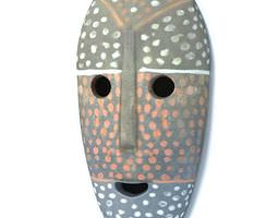 3D Mask Tribal African