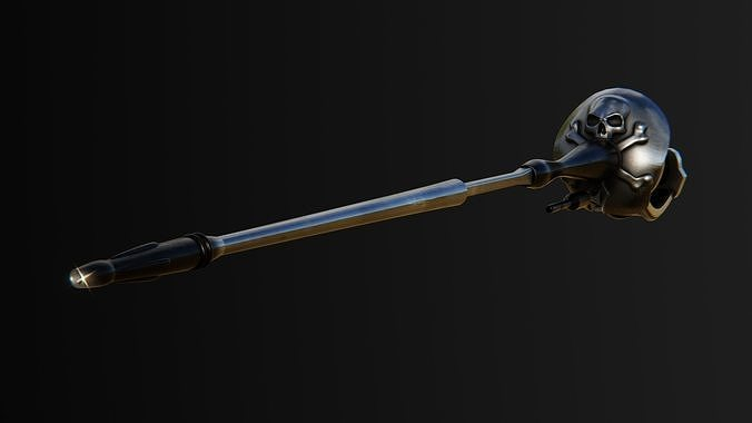 Captain Harlock laser gun rapier