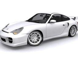 3D model Porsche 911 GT2