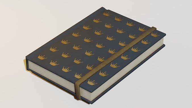 Lowpoly book