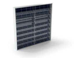 solar collector panel 3d