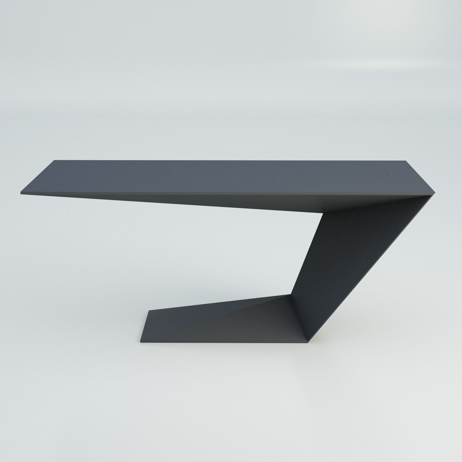 furtif desk modern table roche bobois model cgtrader