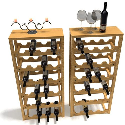 by wall pin wine wooden for from reclaimed rack wood