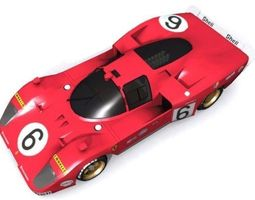 Ferrari 512 S Coda 3D Model