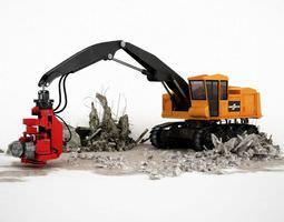 3d truck   construction vehicle