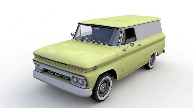 GMC PANEL TRUCK 1964